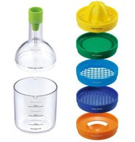 spice bins - Functional Easy Using In1 Kitchen Kits Bin Multi Kitchen Kit Gadget Tool Juices Strains Grates