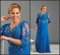Wholesale Spark Light - Plus Size Prom Dresses Long Applique Elegant Zipper Back Custom Formal Evening Gown Sequin Dresses Crystals Sparked Elegant Iullsion Bodice