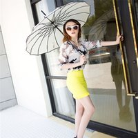 Wholesale 10 new arrival pagoda umbrella colorful long handle fashion woman female gift