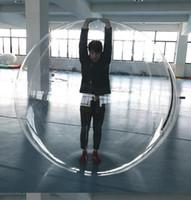 zorb für kinder großhandel-1,3 m 1,5 mt 1,8 mt Kinder Wasser spielzeug Walking ball PVC aufblasbare roll ball wasser tanzen zorb bälle sport große bälle