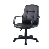 PU Leather Ergonomic Midback Executive Computer Mejor escritorio Task Office Chair