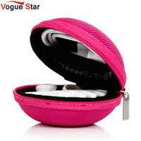 Wholesale Cute Coin Purse For Sale - Wholesale- Vogue Star Hot Sale 5 Colors Women Cute Mini Coin Purse Nylon Wallets for Headphone Ladies Coin Bag GB0017 YA40-104