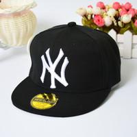 Wholesale Trendy Baseball Hats - New Arrival Trendy Snapback Baseball Caps Adjustable Adult Men's Women's Sports Street Hats Flat Hip Hop Caps NY Bboy Basketball Cap