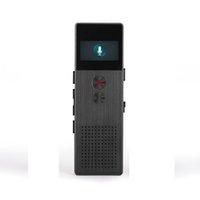 sprachlautsprecher großhandel-Großhandels-Berufsaudiogerät-Recorder des Ton-Recorder-8GB Metallspracheingebauter Lautsprecher-tragbarer Sprachaufzeichnungsanlage-Telefon-Aufnahme-MP3-Player FM