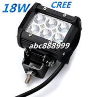 Wholesale Offroad Led Bar Waterproof - LED 12v 24v DC automobile 4inch 18w waterproof IP67 offroad led light bar