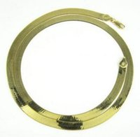 Wholesale gold plated herringbone chain resale online - 20 quot mm Grams k Yellow Gold Herringbone Chain Necklace Mens Ladies