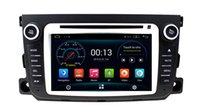 Wholesale Car Dvd Gps Player Smart - Android 5.1 Car DVD Player GPS Navigation for Smart Fortwo 2012 2013 2014 with Radio BT USB Audio Video Stereo 3G WIFI