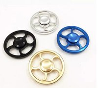 Big Kids Multicolor Metal Hot Steering wheel fidget Spinner Fingertip Gyro aiming circle hand Spinners Decompression Anxiety Toys EDC Aluminium alloy Hanspinner