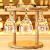 Wholesale Table Mug Holder - Wine Rack Bottle Holder Bar Club Pub Table Champagne Stand Display Bracket Wine Holder Convenient Coffee Cup Mug Holder JE0279