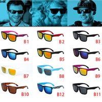 block al por mayor-12 colores clásicos A estrenar moda NUEVO estilo ken block Gafas de sol Hombre Diseñador de la marca Gafas de sol gafas deportivas hombres gafas D036