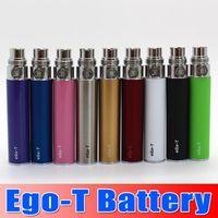 Wholesale E Cig Vivi - Ego Battery E cig 650 900 1100 mAh For Ego,ego-t,510-t,vivi nova EVOD Ce4 MT3 Atomizer Electronic Cigarette Batteries 50pcs DHL