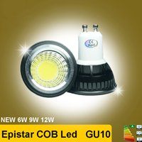 Wholesale High quality W W W GU10 LED Bulbs Light V V dimmable Led Spotlights Warm Cool White GU LED downlight