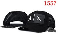 Wholesale Hats New HOTLINEBLING Ball Cap Adjustable The letter AX Baseball caps Snapback Sun Hat Golf Hats Sports HATS
