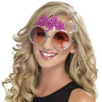 Wholesale Sunglasses Carnival - Hawaii Beach Pineapple Yellow Beer Sunglasses Goggles Bachelorette Hen Night Party Bride To Be Favors Carnival Party Decoration