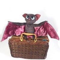 "Wholesale Animal Bat Toys - Hot Sale Hotel Transylvania Dracula Bat 7"" 18cm Plush Doll Stuffed Animals Plush Toys Bats doll Free Shipping cartoon doll"