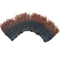 Wholesale Beautiful Queen Hair - 20pcs lot Wholesale Ombre Curly Peruvian dyed Human Hair Extension 50g piece Beautiful Colors Queen Beauty Star 2017 HOT