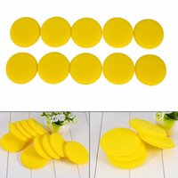 Vente en gros - 10 x Car Waxing Polish Foam Sponge Wax Applicator Cleaning Detailing Pads