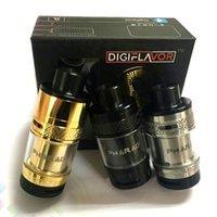 Wholesale angled tip for sale - Group buy Pharaoh RTA ml BAF Top Angled Airflow System Interchangeable Decks Derlin Drip Tip Atomizer Fit Mods DHL Free