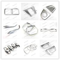 Wholesale Honda Crv Chrome - Car Styling ABS Rear fog light lamp frame and Stall Decoration Trim Accessories For honda CRV 2015 chrome Stick