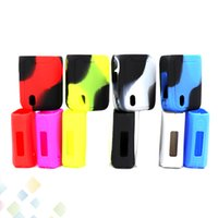 Wholesale vaporesso box mod online - Colorful Vaporesso Swag Silicone Case Soft Protective Sleeve Cover for Swag W Box Mod E Cig High quality DHL Free