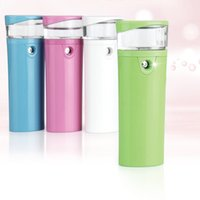 Wholesale Nano Mobile Charger - Nano Spray Moisturizing Spray with Mobile Power Function charger for iphone Mini portable Atomizer Melan control Face skin Kemei