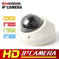 Wholesale High Resolution Dome - 1080P Dome IP Camera 2MP POE High Resolution Real Time Video Dome Network Camera IR Camera 3.6mm P2P Onvif P2P XMEYE View