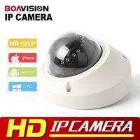 Wholesale High Resolution Ir Dome Camera - 1080P Dome IP Camera 2MP POE High Resolution Real Time Video Dome Network Camera IR Camera 3.6mm P2P Onvif P2P XMEYE View