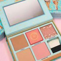 Wholesale Blush Palettes - Dropshipping hot sale CHEEK PARADE &Cheekathon Blush Limited Edition Highlighter Contour makeup powder blush Palette + Brush