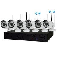 Wholesale Wireless Cctv Systems 8ch - 8CH CCTV System Wireless 960P NVR 6PCS 1.3MP IR Outdoor P2P Wifi IP CCTV Security Camera System Surveillance Kit