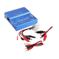 Wholesale European Ac Cable - Freeshipping New iMAX B6 AC B 6AC Lipo NiMH 3S RC Battery Balance Charger of RC hobby + B6AC European Universal Power Cord Power Cable