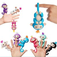 Wholesale Purple Wedding Stuff - 6 colors Pre-sale Fingerlings - Interactive Baby Monkey Finger Toys Monkey Electronic Smart Touch Fingers Monkey For Wedding Decorated Cheap