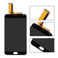 Atacado- Black For Meizu meilan M2 Nota 2 lcd display Touch Screen com digitalizador completo Assembly peças de reposição