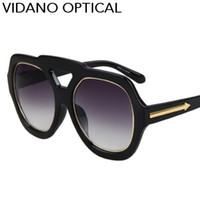 Wholesale Arrow Sun - Vidano Optical 1pc Latest Celebrity Arrow Design Men Sunglasses For Women Fashion Brand Sun Glasses Pilot Sunglasses UV400