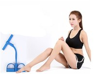 Wholesale Red Foot Pedal - Four foot pedal chest tube expander supply home fitness equipment AB crunches equipment