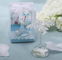 Wholesale Wedding Table Tree Holders - Crystal palm tree place card holder more different style place card holder for festive wedding table decoration