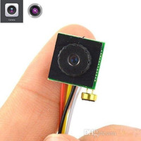Wholesale micro camera audio recorder resale online - 700TVL quot CMOS Mini DIY Camera Home Security CCTV Camera Micro HD Video Audio Recorder Pinhole Camera NTSC PAL