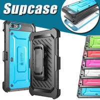 Wholesale unicorn beetle series iphone - Unicorn Beetle PRO Series Supcase Case Heavy Duty Rugged Cover Case for iPhone 8 7 Plus 6S Samsung S6 edge With Swiveling Belt Clip Holster
