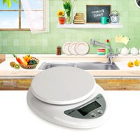 Wholesale Electronic Kitchen Postal Scales - 5kg 5000g 1g Digital Kitchen Food Diet Postal Scale Electronic Weight Bench Scales Balance Weighting LED Electronic WH-B05