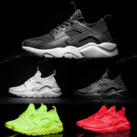 Wholesale New Designed Shoes - 2017 New Design Air Huarache 4 IV Running Shoes For Women & Men, Lightweight Huaraches Sneakers Athletic Sport Outdoor Huarache Shoes 36-46