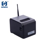 Wholesale Thermal Machine Usb - Pos thermal 80mm GPRS receipt printer usb port wireless desktop bill printing machine factory sale directly one year warranty