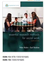 Wholesale 2017 New Empowerment Series Essential Research Methods for Social Work th Edition books