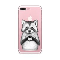 Wholesale defender case iphone 6s plus for sale - Cell Phone Accessories Cases fashion Animal Cartoon Animation Painting ultra thin Case Cover Defender For iPhone S s Plus