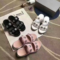 Wholesale Model Sports Shoes - Slippers Women fashion slides soft rubber handmade embroidery Sport style summer Woman Slippers Best selling shoe size 35-40 model 173846964