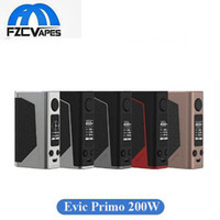 Wholesale Box Evic - Original Joyetech Evic Primo 200W Mod Temperature Control Box Mod 50A Discharge Vape Mod Dual 18650 Power