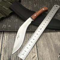 Wholesale New Nepal mini machete Full Tang Survival Kukri Machete Bowie Knife VTH88