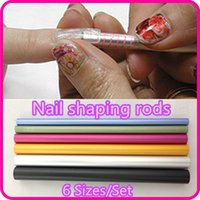 Wholesale curves sticks nail art tools for sale - Group buy Nail Art Tools Different Size Curve Rod Sticks Artificial Nail Tool NR WS65