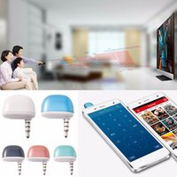 Wholesale 3 mm Infrared IR Phones remote control Universal Intelligent Mobile Phone Smart Remote Control smart home
