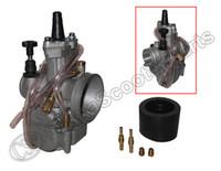 Wholesale Atv Carburetor Parts - Wholesale- PWK PWK30 30 30mm Carburetor For keihin KOSO OKO Power Jet Carburetor Dirt Pit bike ATV Buggy Quad Go Kart Parts