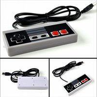 Wholesale Interface Games - USB Interface wired Controller for PC Computer Game Famicom Gamepad not for NES FC classic