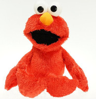 Wholesale Sesame Toys - Wholesale-30CM Cartoon Sesame Street Elmo Plush Toys Soft Stuffed Dolls Children Gifts
